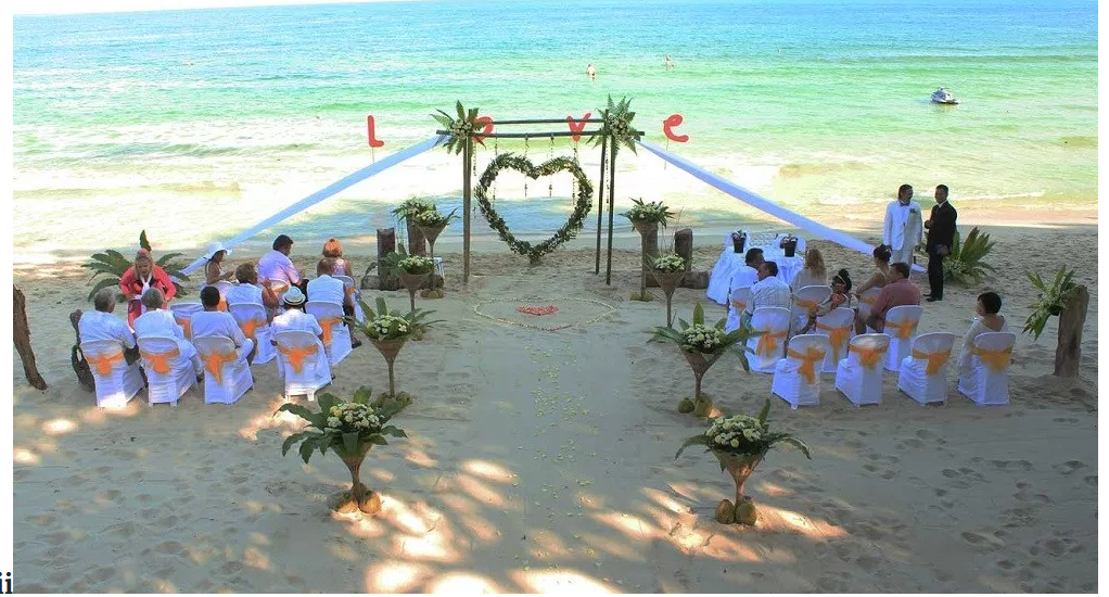 5 famous wedding destinations in the world with their top for Top 5 wedding destinations